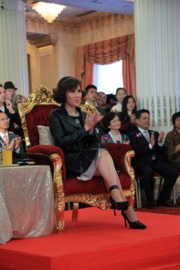 Her Royal Highness Princess Ubolratana Rajakanya Sirivadhana Barnavadi presides over Thai Night Cannes 2014